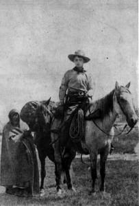 Pony-Express Reiter, ca. 1861
